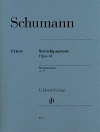 Schumann, R: String Quartets op. 41