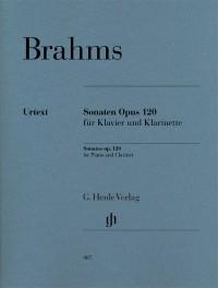 Brahms, J: Sonatas op. 120