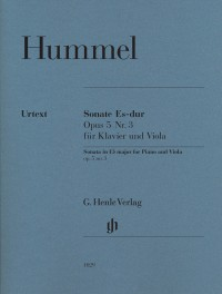 Hummel, J N: Sonata op. 5/3