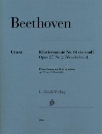 """Beethoven: Piano Sonata No. 14, Op. 27/2 """"Moonlight"""" (Sheet Music)"""