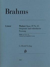 Brahms: Waltz op. 39 no. 15