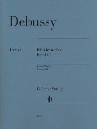Debussy, C: Piano Works Volume III