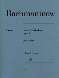 Rachmaninoff: Corelli Variations op. 42