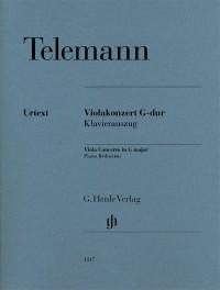 Telemann, G P: Viola Concerto