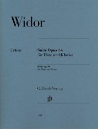 Widor, C: Suite op. 34