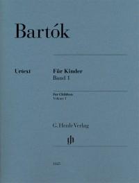 Bartók: For Children Volume I