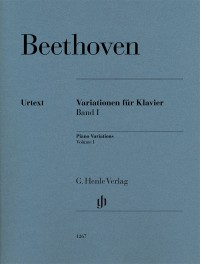 Beethoven: Variations for Piano, Volume 1