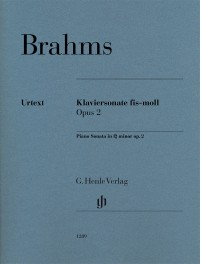 Brahms: Piano Sonata in F sharp minor, op. 2