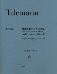 Telemann: Methodical Sonatas for Flute (or Violin) and Continuo, Volume 2