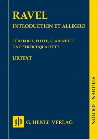 Ravel: Introduction and Allegro for Harp, Flute, Clarinet, and String Quartet