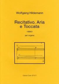 Hildemann, W: Recitativo, Aria e Toccata