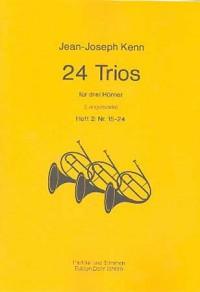 Kenn, J: 24 Trios Vol. 2