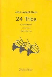 Kenn, J: 24 Trios Vol. 1
