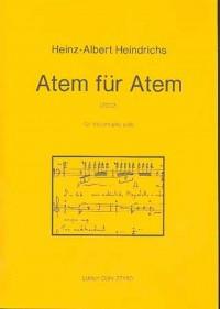 Heindrichs, H A: Breath for breath