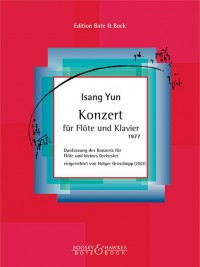 Yun, I: Concerto for Flute and Piano