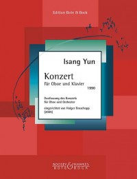 Yun, I: Concerto for Oboe and Orchestra