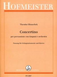 Theodor Hlouschek: Concertino per Percussione con Timpani e Orchestra