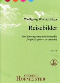 Wolfgang Wollschlõger: Reisebilder
