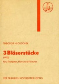 Theodor Hlouschek: Drei Bläserstücke op. 48