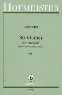 Josef Hrabé: 86 Etuden, Heft 1