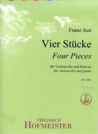 Franz Just: Vier Stücke