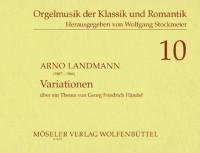 Landmann, A: Variations on a theme by Handel op. 29