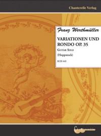 Werthmueller, F: Variationen und Rondo op. 35