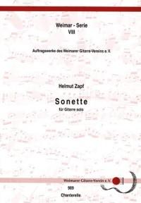 Zapf, H: Sonette