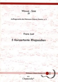 Just, F: Fünf Konzertante Rhapsodien