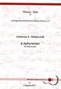 Hildebrandt, J K: 4 Aphorismen