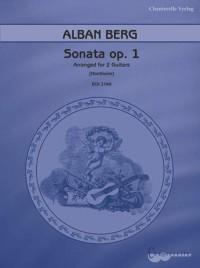 Berg, A: Sonata op. 1