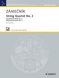 Zámecník, E: String quartet II