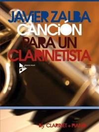 Zalba, J: Canción Para Un Clarinetista