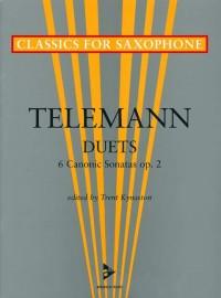 Telemann: Six Canonic Sonatas op. 2