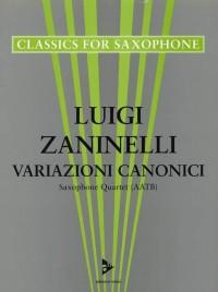 Zaninelli, L: Variazioni Canonici