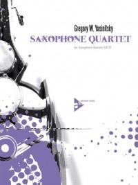 Yasinitsky, G: Saxophone Quartet