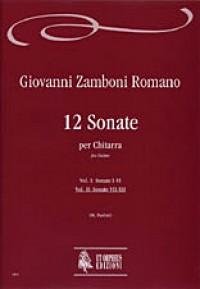 Zamboni, G: 12 Sonatas Vol. 2