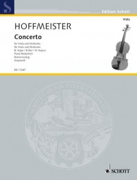 Hoffmeister, F A: Concerto B flat Major