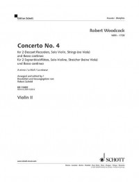 Woodcock, R: Concerto No. 4 in A minor