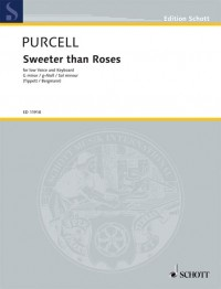 Purcell, H: Sweeter than Roses