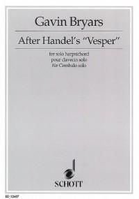 Bryars, G: After Handel's Vesper