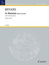 Bryars, G: In Nomine (after Purcell)