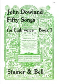 Dowland: Fifty Songs. Book 1. High Voice