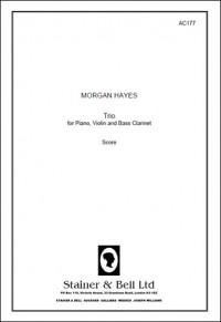 Hayes: Trio for Violin, Bass Clarinet & Piano