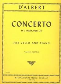 Albert, E F C d: Concerto in C major op.20