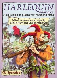 Hunt/Mcdowall: Harlequin Flute Book 1 (Inc.Cd)