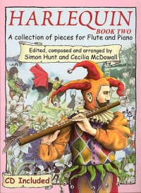Hunt/Mcdowall: Harlequin Flute Book 2 (Inc.Cd)