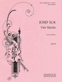 Suk, J: Four Pieces op. 17 Band 2