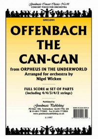 Offenbach J: Can-Can (Arr.Wicken) Pack