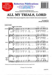 Hopkins: All My Trials, Lord
